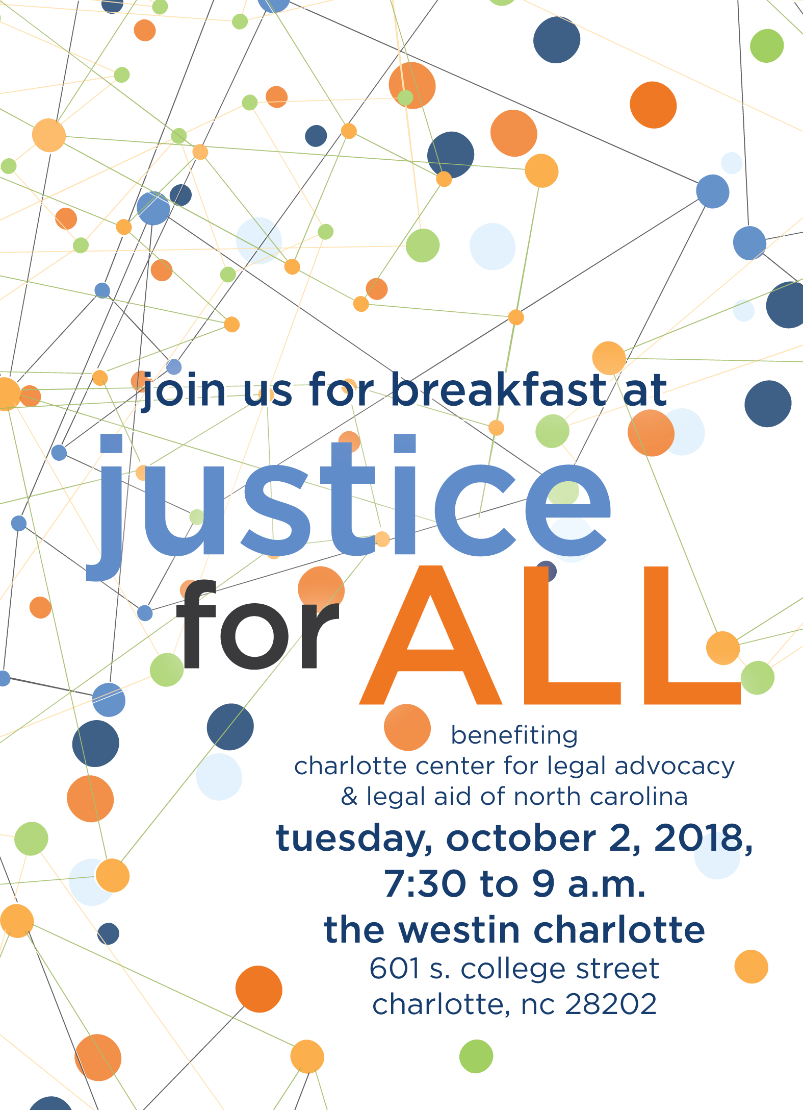 Justice for All Breakfast 2018